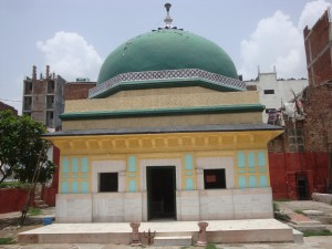 The tomb of Shaykh Abdul Haqq Dehlavi