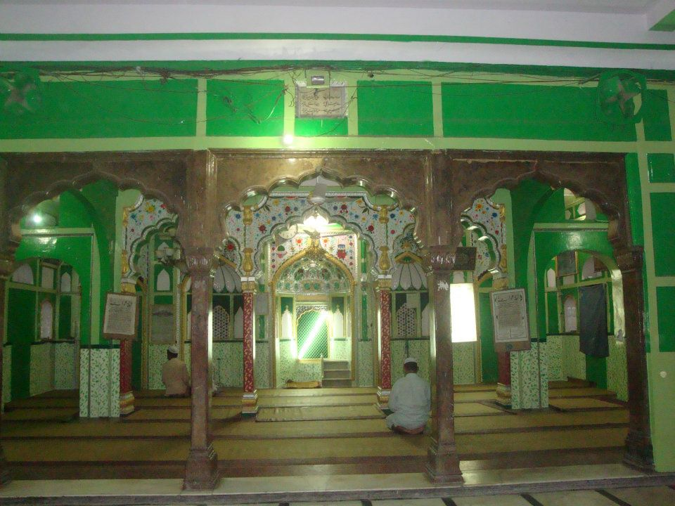 Masjid besides the shrine